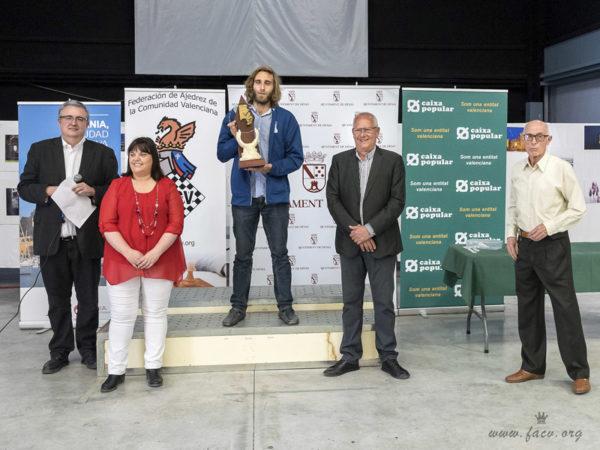Jaime Valmaña Campeón Autonómico de Ajedrez