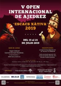Open Internacional Xàtiva @ EN EL ESPAI CULTURAL CONVENT DE SANT DOMÈNEC XÀTIVA, ESPAÑA