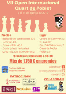 """Open Internacional Quart @ Centro Cultural """"El Casino"""""""