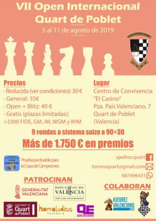 torneo ajedrez Quart España