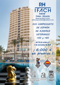 XVII Campeonato España Veteranos @ Hotel IFACH **** Calpe