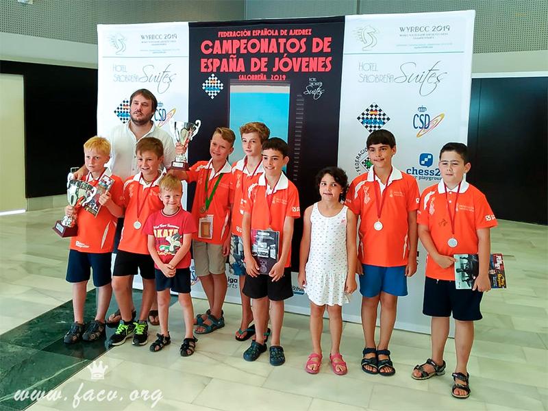 Campeonato España Ajedrez Sub10
