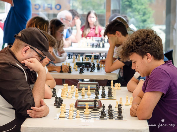 torneo de ajedrez en Segorbe, Castellón España