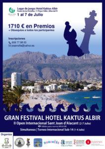 Festival Ajedrez Albir