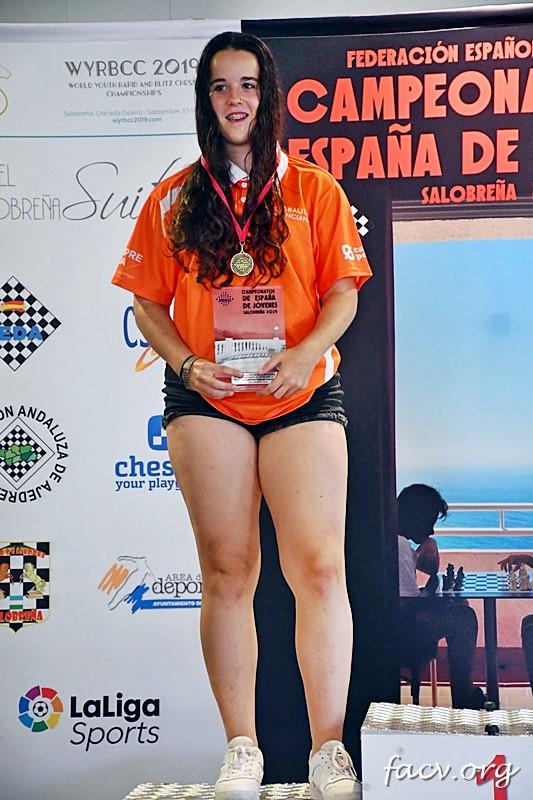 Nieves Sanleón campeona España ajedrez