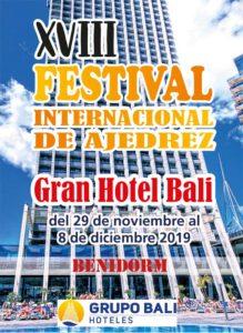 Festival Ajedrez Hotel Bali @ Gran Hotel Bali