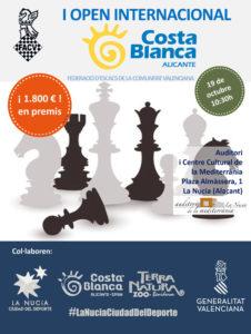 Torneo ajedrez Costa Blanca