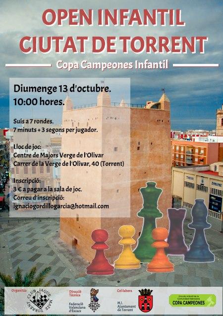 torneo ajedrez Torrent
