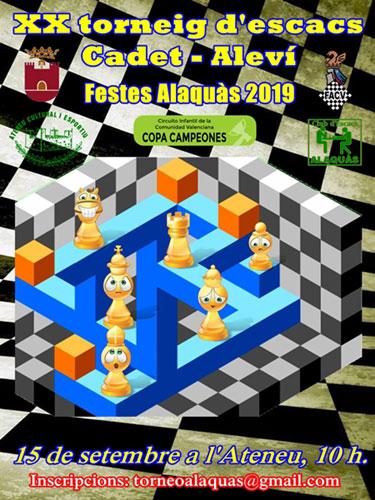 torneo ajedrez en Alaquás