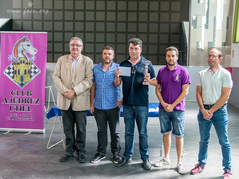 Antonio Selva vencedor torneo de ajedrez