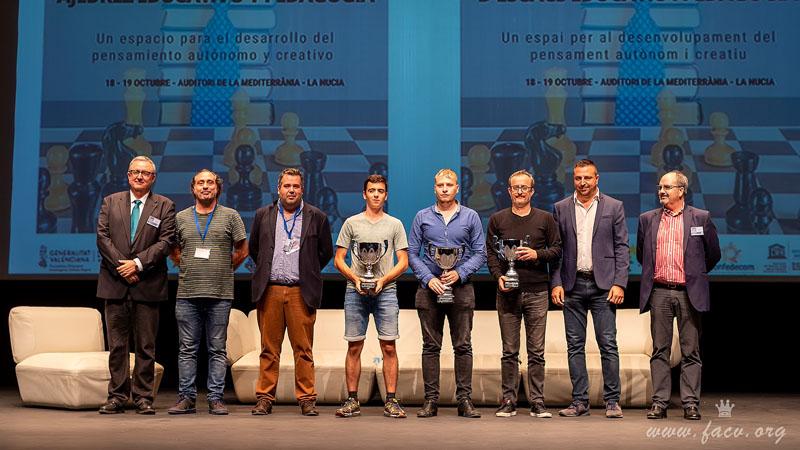 Campeonato ajedrez Comunidad Valenciana