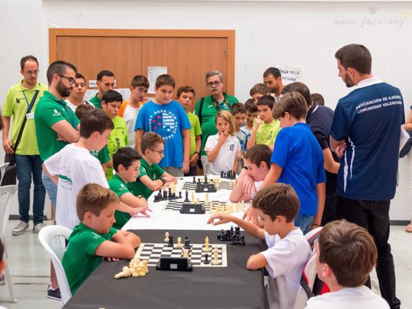 competición ajedrez