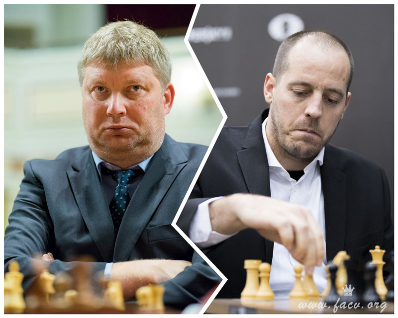Shirov y Vallejo ajedrez