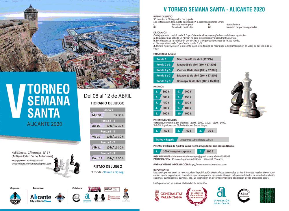 caetel torneo ajedrez Alicante