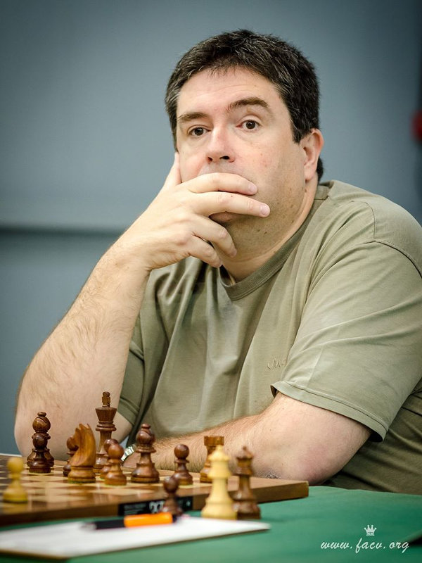 Vicente Cano jugador de ajedrez