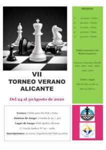 VII Torneo Verano Alicante @ Club Ajedrez Alicante