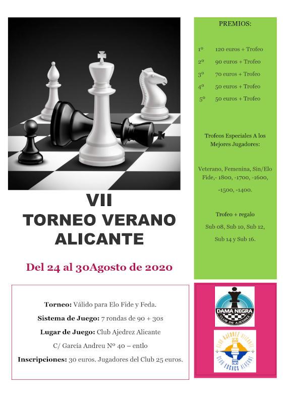 torneo ajedrez en Alicante