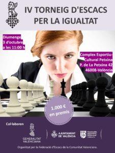 IV Torneig per la Igualtat @ Complejo Deportivo Cultural La Petxina