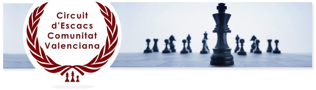 cabecera del circuito de torneos ajedrez