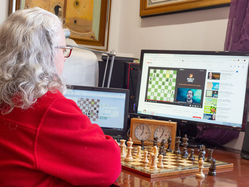 jugar ajedrez on-line