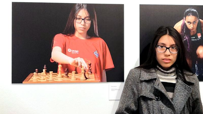 Viviana Galván jugadora ajedrez