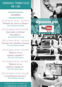 Cursos On-line Federados @ FACV On-Line