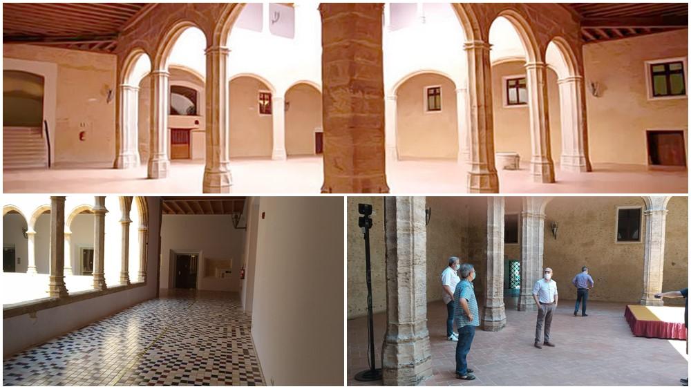 claustro de castillo de Alaquás