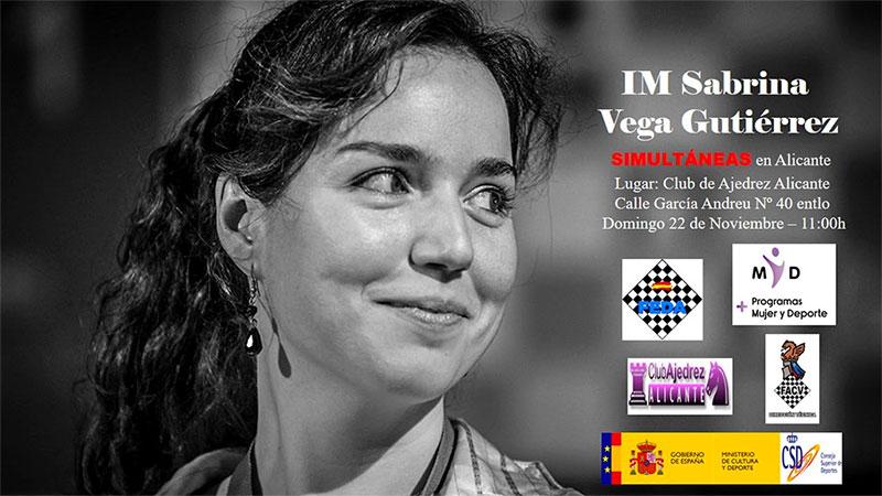 Sabrina Vega jugadora de ajedrez