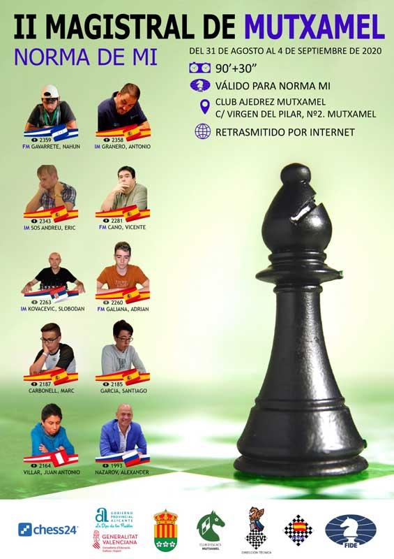 banner cartel torneo de ajedrez