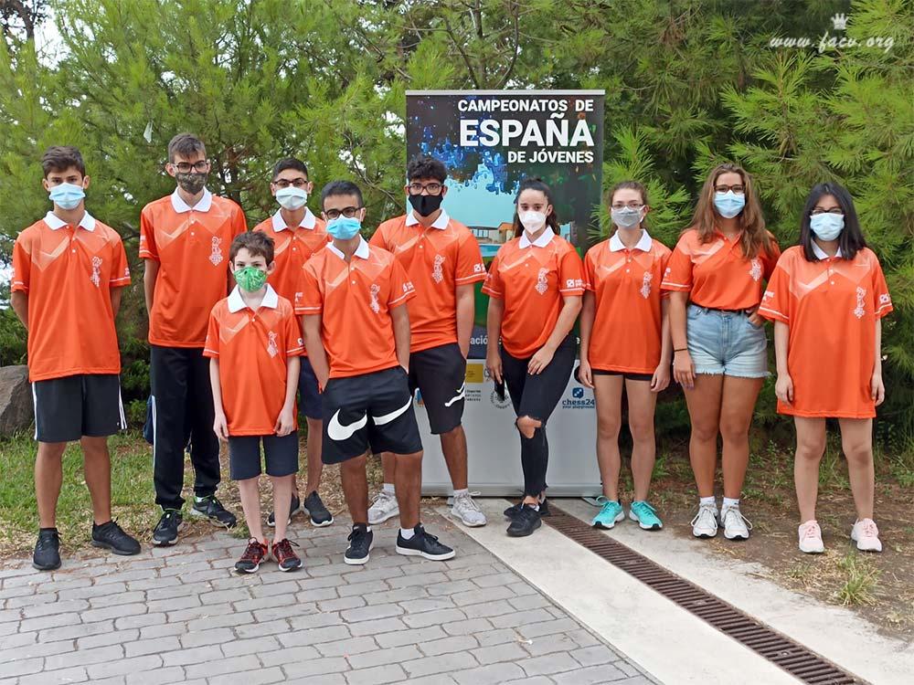 grupo de jugadores valencianos