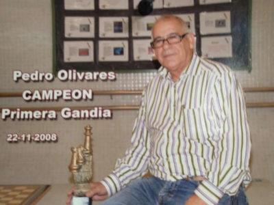 Pedro Olivares jugador de ajedrez