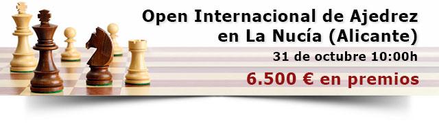 banner piezas ajedrez torneo La Nucia