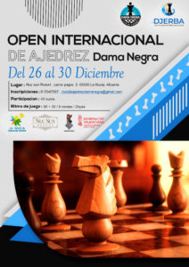 Open Int. Dama Negra @ Club Ajedrez Dama Negra