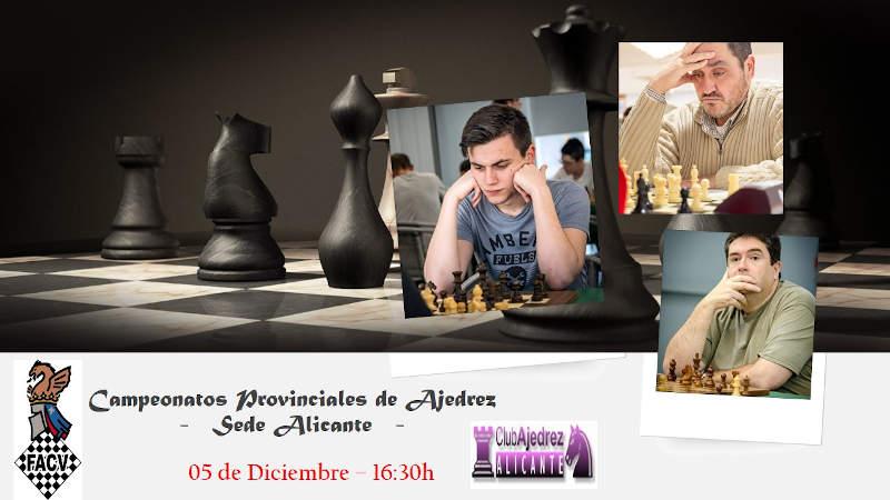 jugadores ajedrez final Alicante