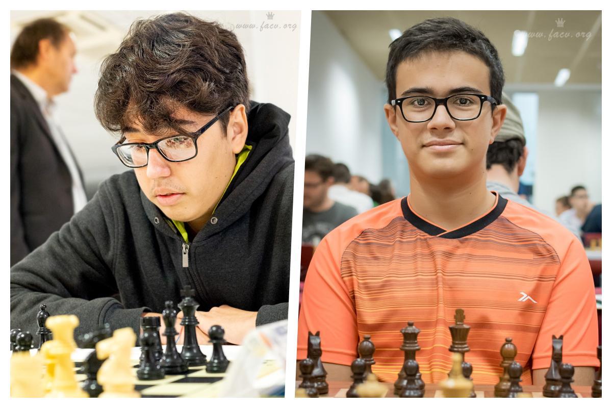dos maestros de ajedrez