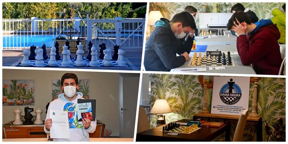 Instalaciones y jugadores del torneo de ajedrez