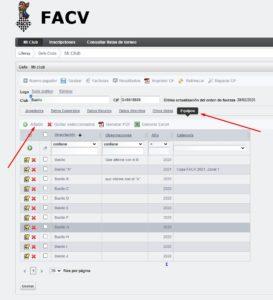 pantalla de ejemplo del formulario