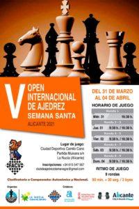 cartel torneo de ajedrez