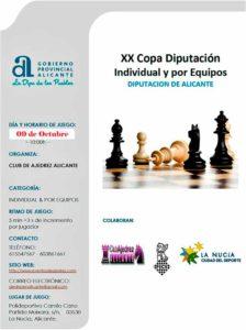 Copa Diputacion Alicante @ Pabellón Polideportivo Municipal Muixara