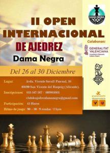 II Open Int. Dama Negra @ Villa Universitaria