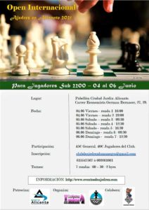 Open Inter. Alicante S2200 @ Pabellón Ciudad Jardín Alicante