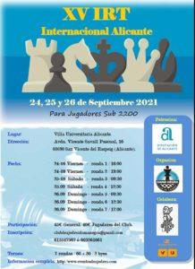 IRT Sub2200 Dama Negra @ Alicante