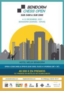 "Benidorm Chess Open S2000 @ Salón ""La Torreta"" en Hotel Meliá Benidorm"