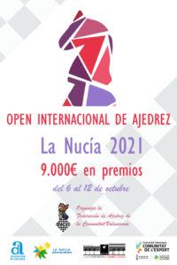 Open y Sub-1900 La Nucía 2021 @ Pabellón Polideportivo Municipal Muixara