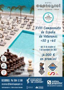 XVIII Campeonato España Veteranos @ Hotel Cap Negret