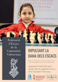 Niña con ajedrez