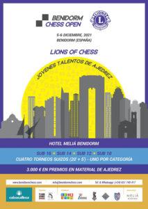 "Lions of Chess Edades S10 a S16 @ Salón ""La Torreta"" en Hotel Meliá Benidorm"
