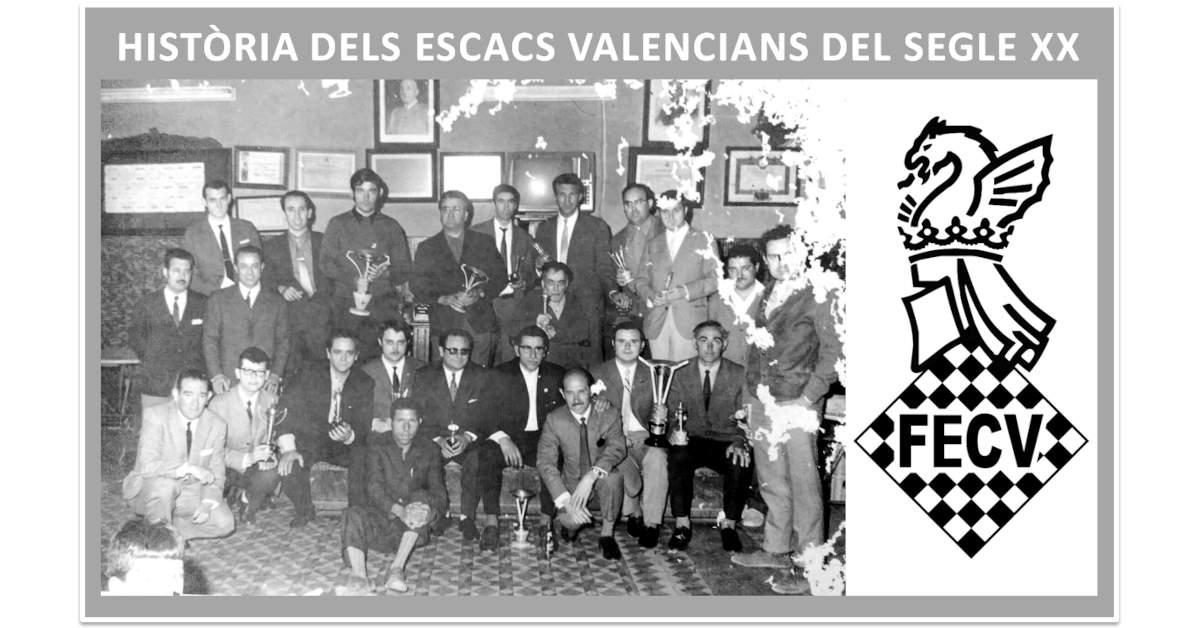 foto antigua jugadores de ajedrez