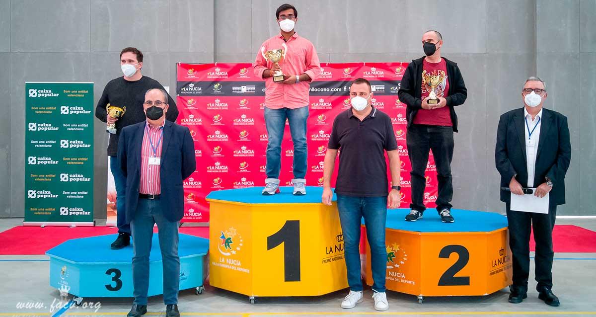 premiados torneo ajedrez La Nucía